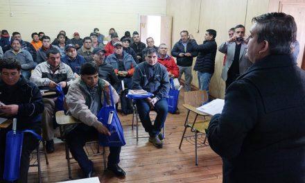 Autoridades anuncian la creación de curso homologado para faenas mineras
